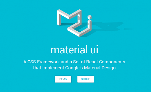 Material UI - Material Design React Components