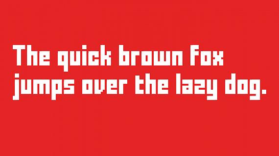 نمونه متن با فونت FFF Forward - پیش نمایش فونت